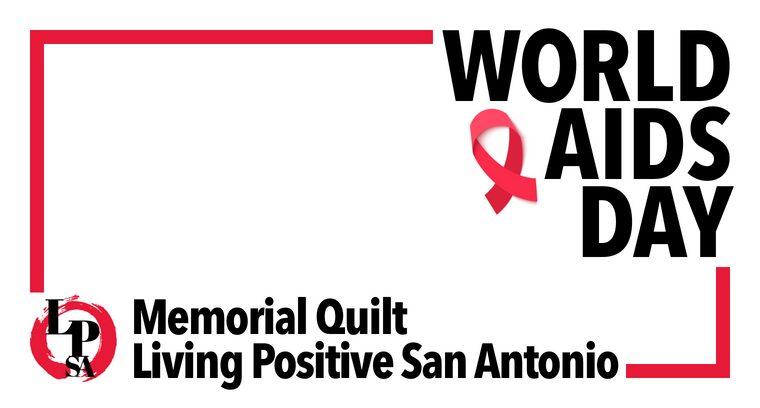 Living Positive AIDS Quilt Presentation