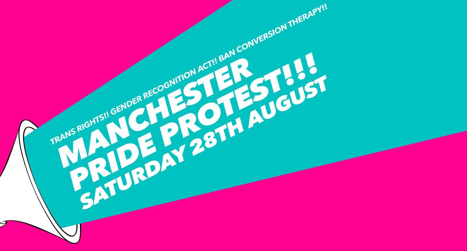 Manchester Pride Protest